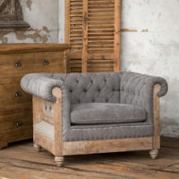 Capital Hotel Tufted Chesterfield Chair