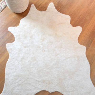 Nevada Cream Cowhide Rug 42