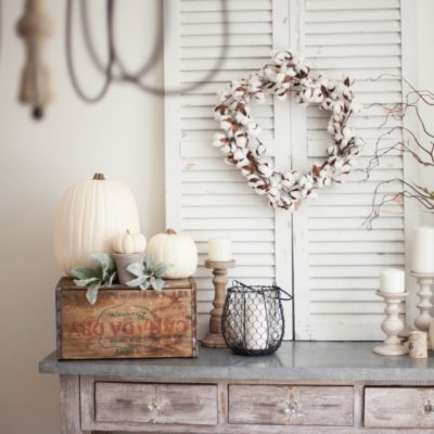 Farmhouse Cotton Wreath 9