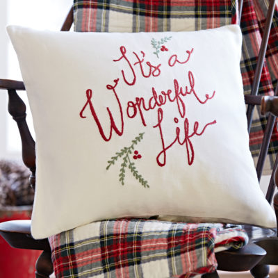 Wonderful Life Pillow 203