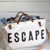 Navy ESCAPE Canvas Bag 9