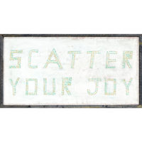 Sugarboo Scatter Your Joy Sign