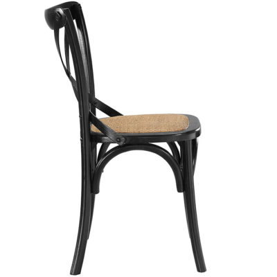 Crossback Farmhouse Chair | Black