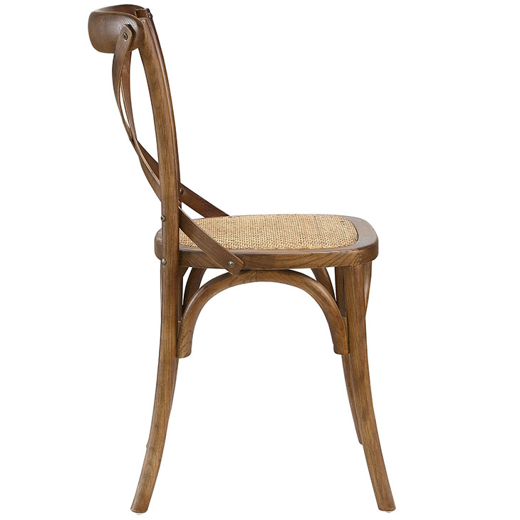 Crossback Farmhouse Chair | Walnut