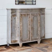 Aged Paint Townhouse Console