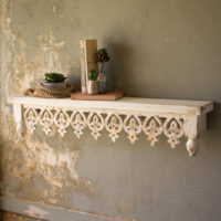 Tailored Haven Carved Wall Shelf