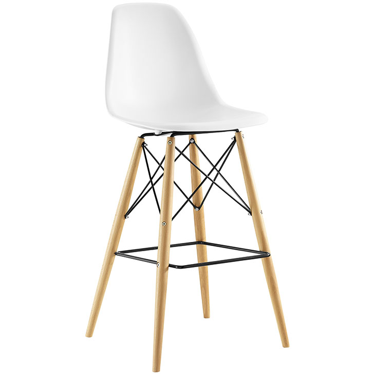 Tailored Haven Barstool - White