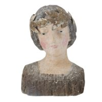 Reproduction of Vintage Magnesia Bust