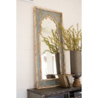 Painted Foyer Mirror