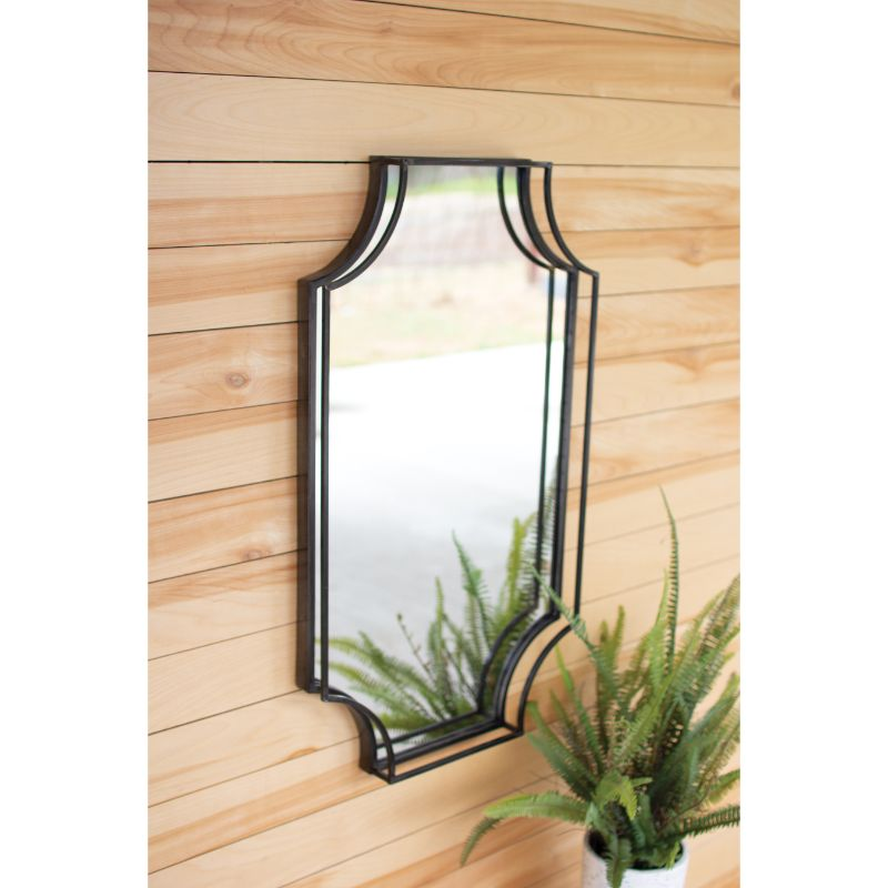 Nora Metal Framed Wall Mirror