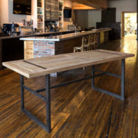 Reclaimed Oak Gathering Table