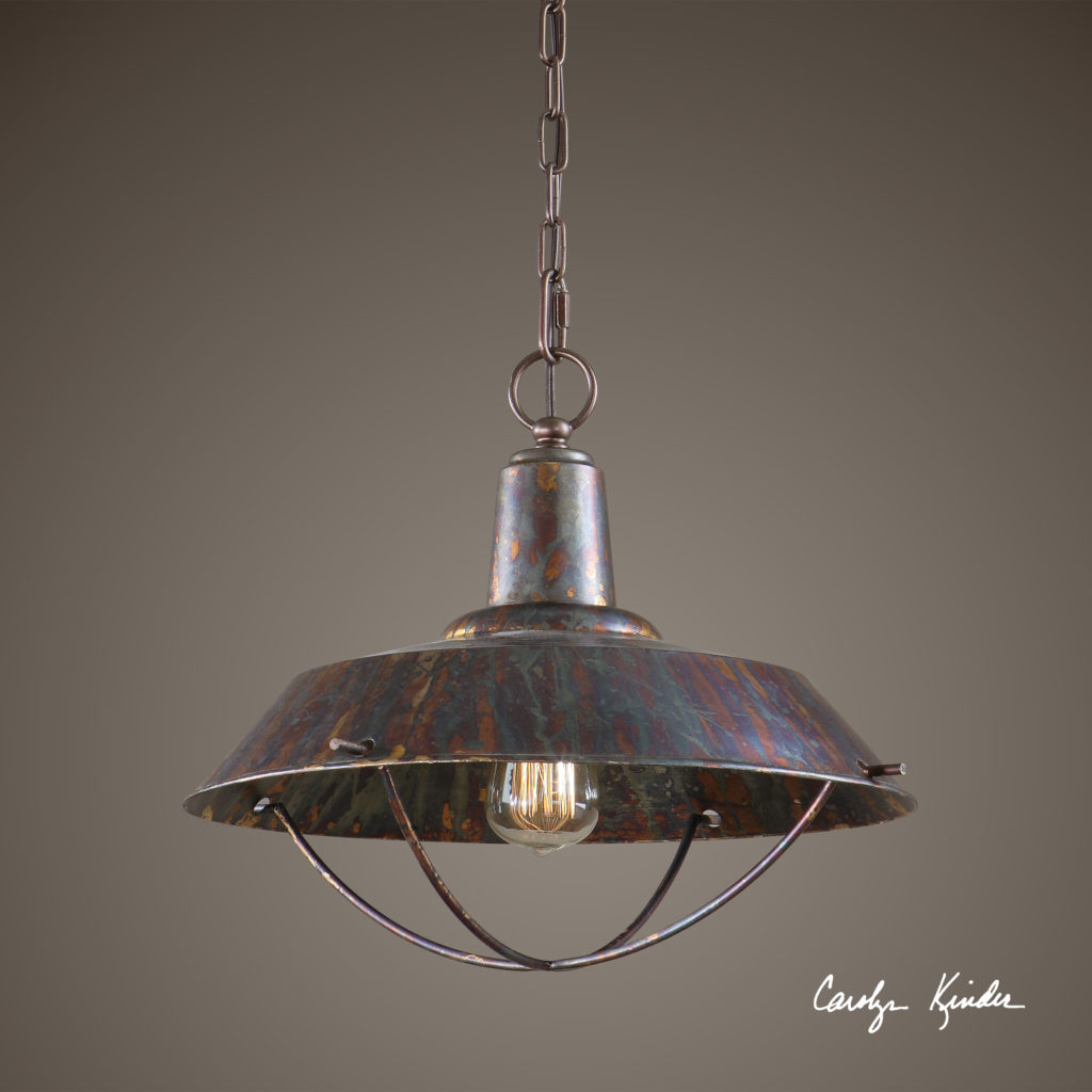 Arcada 1 Light Bronze Pendant