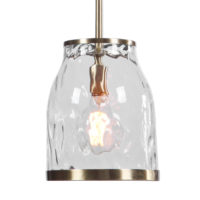 Crossley 1 Light Glass Mini Pendant