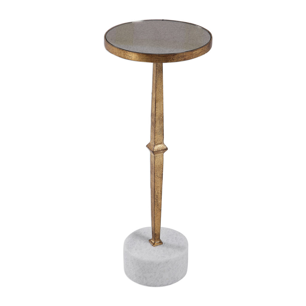 Miriam Round Accent Table
