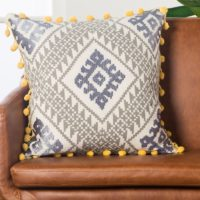 Ikat Down Throw Pillow