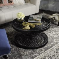 Grimson Large Bowed Coffee Table